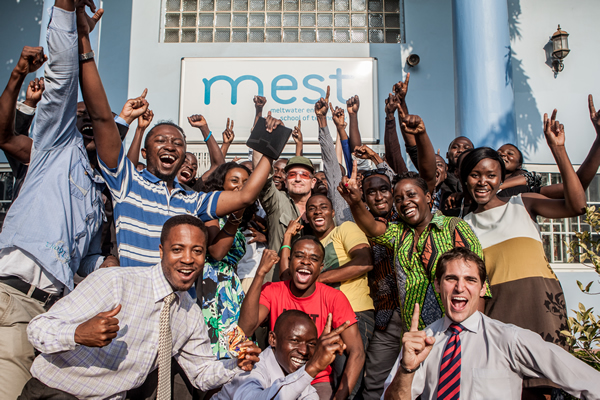 Bono at the Meltwater Entrepreneurial School of Technology